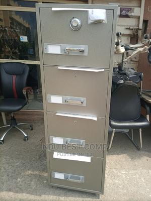 4drawer Fireproof Safe Cabinet | Safetywear & Equipment for sale in Lagos State, Gbagada