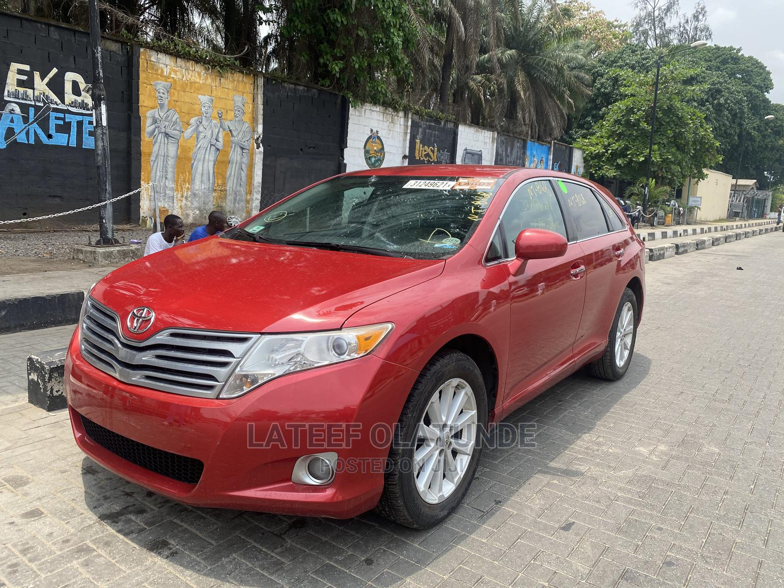 Toyota Venza 2012 AWD Red | Cars for sale in Ikoyi, Lagos State, Nigeria