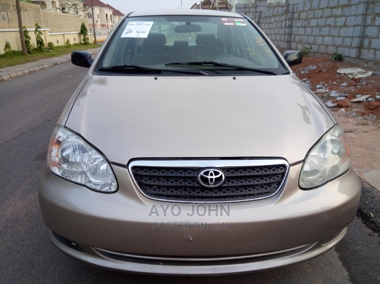 Archive: Toyota Corolla 2005 CE Gold