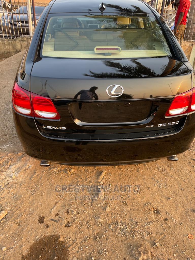 Lexus GS 2007 350 Black | Cars for sale in Ojodu, Lagos State, Nigeria