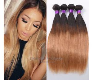 Ombre Brazilian Straight Human Hair   Hair Beauty for sale in Nasarawa State, Keffi
