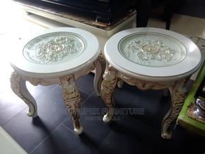 Two High Quality Royal Side Table /Stool | Furniture for sale in Lagos State, Ojo