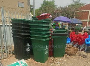 240lt Plastic Waste Bin Wheels Available | Home Accessories for sale in Abuja (FCT) State, Wuse