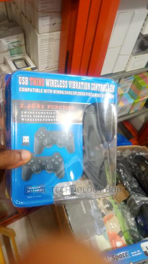 Usb 2.4ghz Twins Wireless Vibration Controller | Video Games for sale in Lagos State, Ikeja