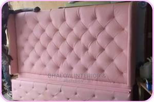 6 by 6 Padded Bed Frame ,Full Upholstery | Furniture for sale in Lagos State, Agege
