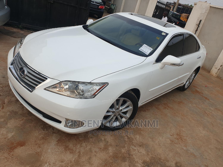 Lexus ES 2011 350 White