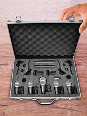 7 Set Drum Microphone Original | Audio & Music Equipment for sale in Lagos State, Surulere