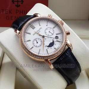 PATEK PHILIPPE Leather Watch   Watches for sale in Lagos State, Lagos Island (Eko)