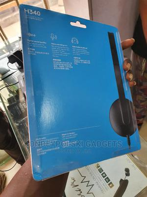 Logitech USB Stereo Headset H340 for Windows and Mac | Headphones for sale in Lagos State, Ikeja