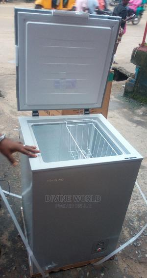 New Hisense Deep Freezer Fs-130 (100L) Super Cooling   Kitchen Appliances for sale in Lagos State, Ojo