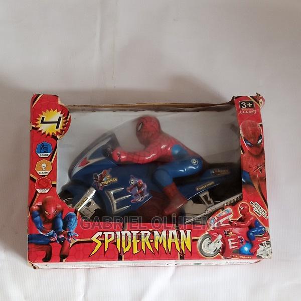 Spider Man Bike Toy