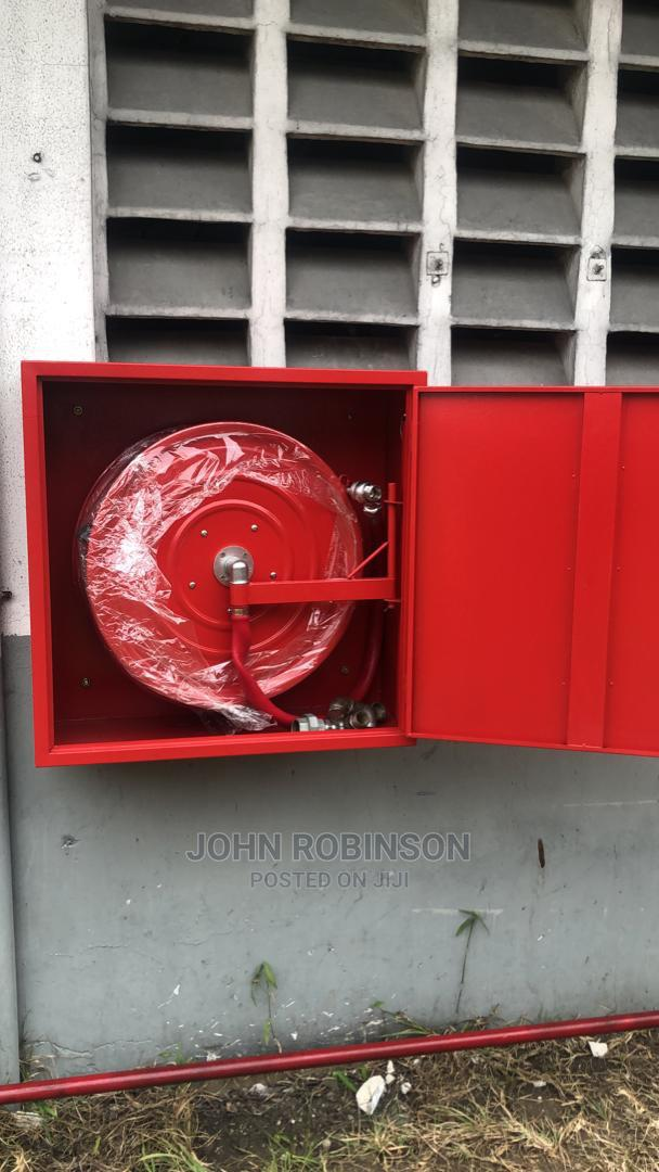 Archive: Hose Reel and Cabinet