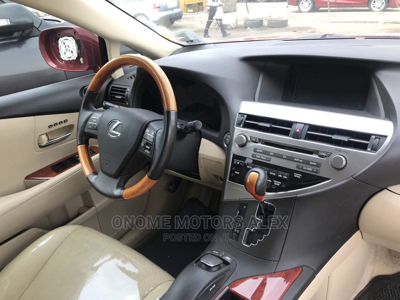 Archive: Lexus RX 2010 350 Red