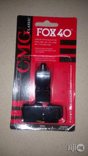 Original Fox 40 Whistle   Sports Equipment for sale in Lagos State, Ikorodu