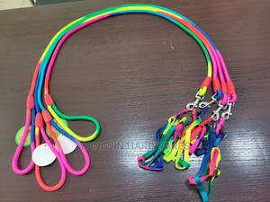 Rainbow Colored Dog Rope With Harness | Pet's Accessories for sale in Lagos State, Lagos Island (Eko)