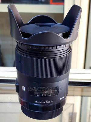 Sigma Art Lens 35mm F1.4 For Canon Camera | Accessories & Supplies for Electronics for sale in Lagos State, Ikeja