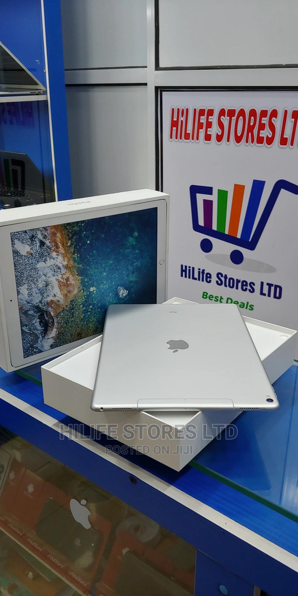 Apple iPad Pro 12.9 (2017) 64 GB Silver | Tablets for sale in Ikeja, Lagos State, Nigeria
