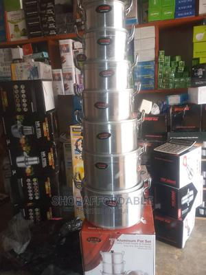 7 in 1 Quality Cookware Set Pots | Kitchen & Dining for sale in Lagos State, Alimosho