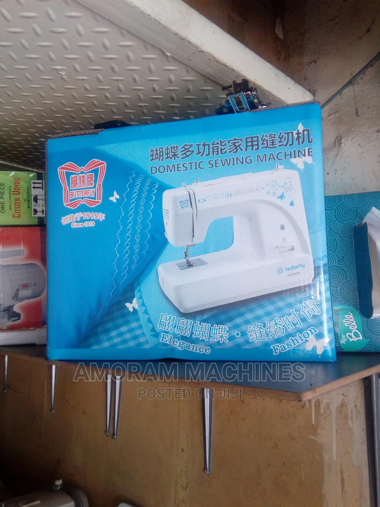 Original Butterfly Table Top Electrical Sewing Machine