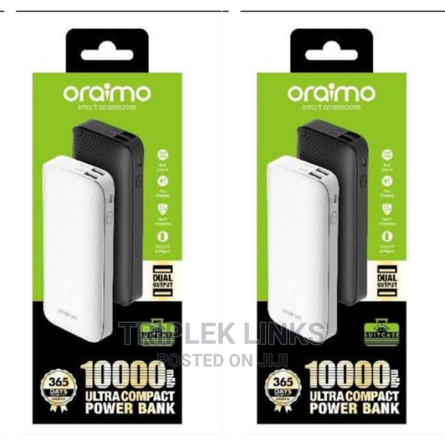 Original Oriamo 10000mah Power Bank   Accessories for Mobile Phones & Tablets for sale in Ojo, Lagos State, Nigeria
