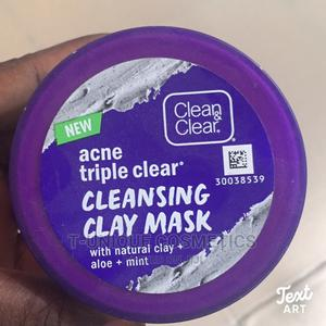 Clear Clear Acne Triple Clear Cleansing Clay Mask | Skin Care for sale in Lagos State, Ikorodu