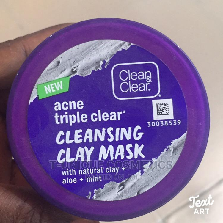 Clear Clear Acne Triple Clear Cleansing Clay Mask