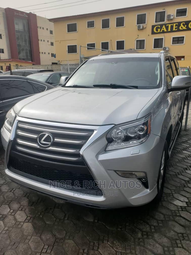 Lexus GX 2015 Silver