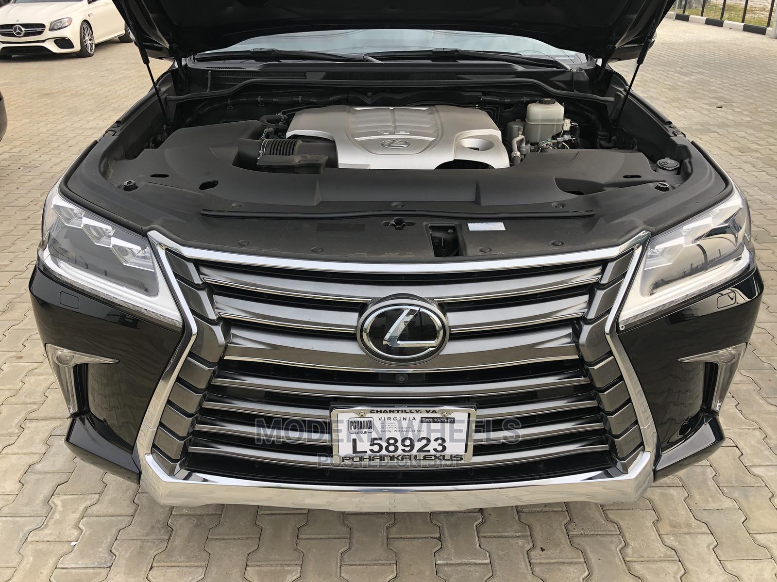 Lexus LX 2017 570 Base Black   Cars for sale in Lekki, Lagos State, Nigeria