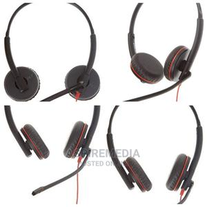 Plantronics Blackwire C3225 Headset | Headphones for sale in Lagos State, Ikeja