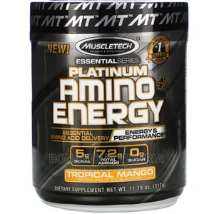 Muscletech Platinum Amino Plus Energy (Tropical Mango) 317g   Vitamins & Supplements for sale in Lagos State, Ipaja