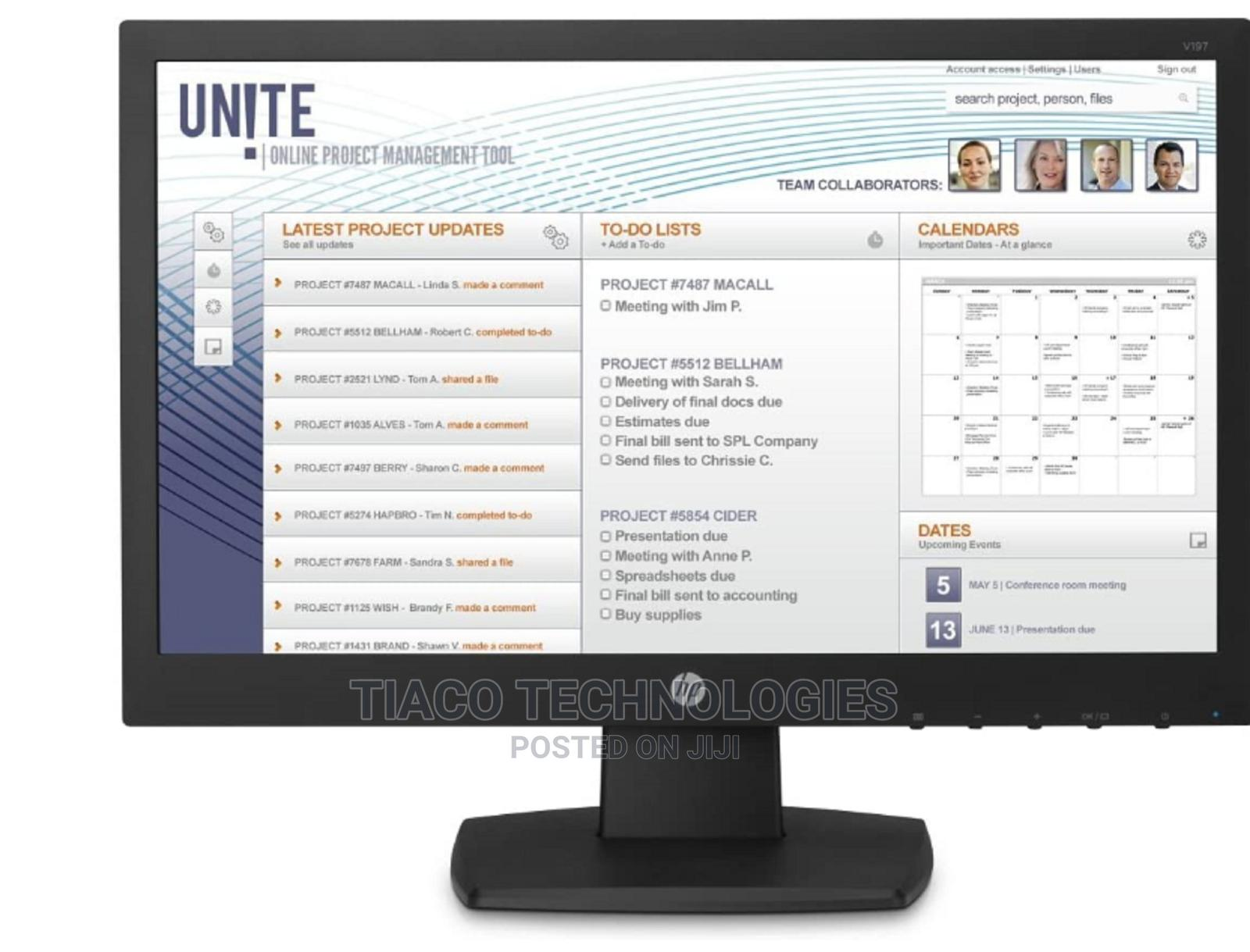 HP V197 18.5 Inch LED Monitor