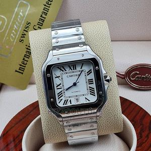 High Quality Cartier Silver Chain for Men   Watches for sale in Lagos State, Magodo