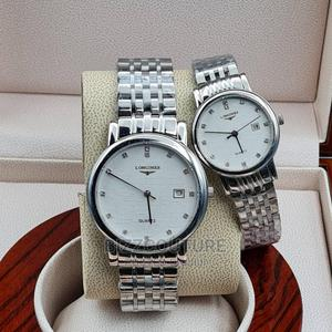 High Quality Longines Silver Couples Watch   Watches for sale in Lagos State, Magodo