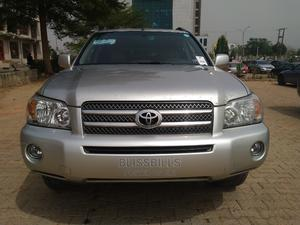 Toyota Highlander 2007 Hybrid Limited Silver | Cars for sale in Abuja (FCT) State, Central Business District