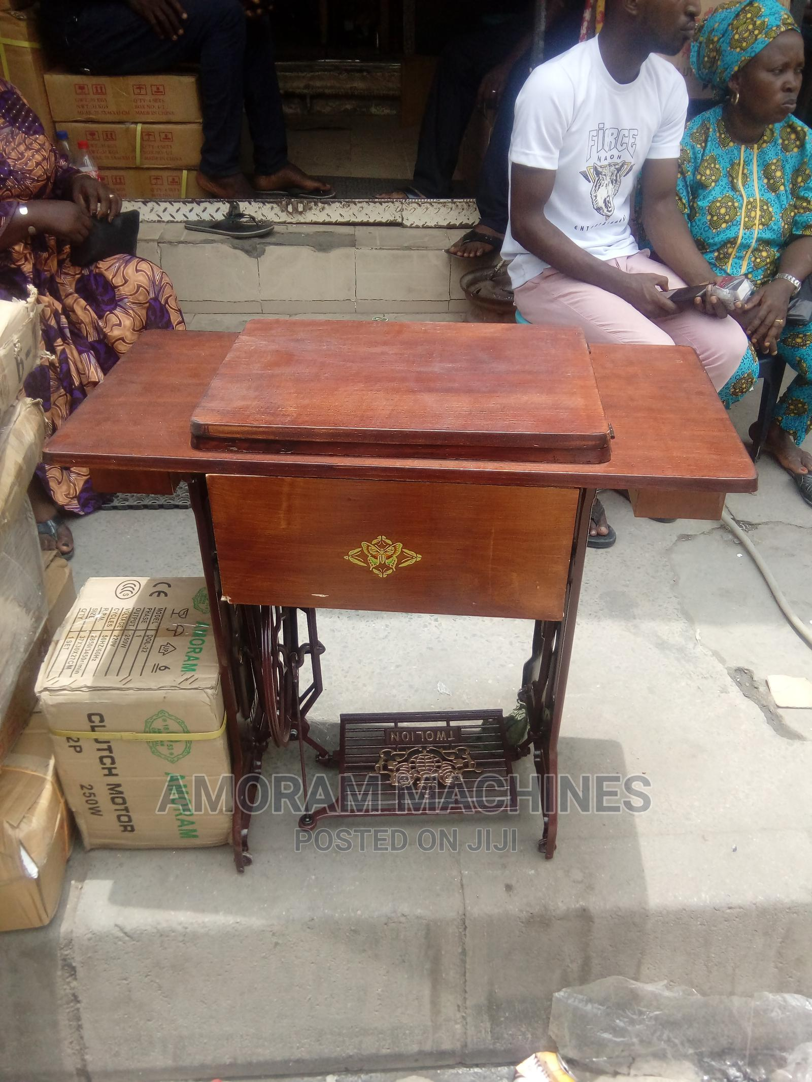Original Domestic Sewing Machine Table Stand