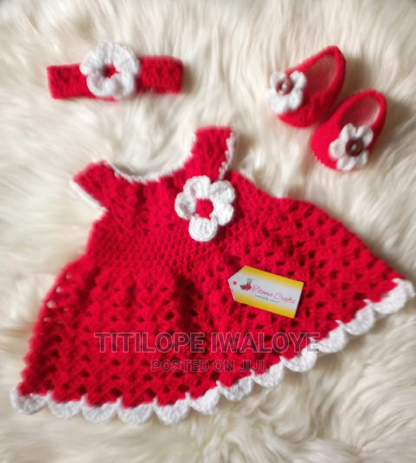 Crochet Newborn Baby Gown