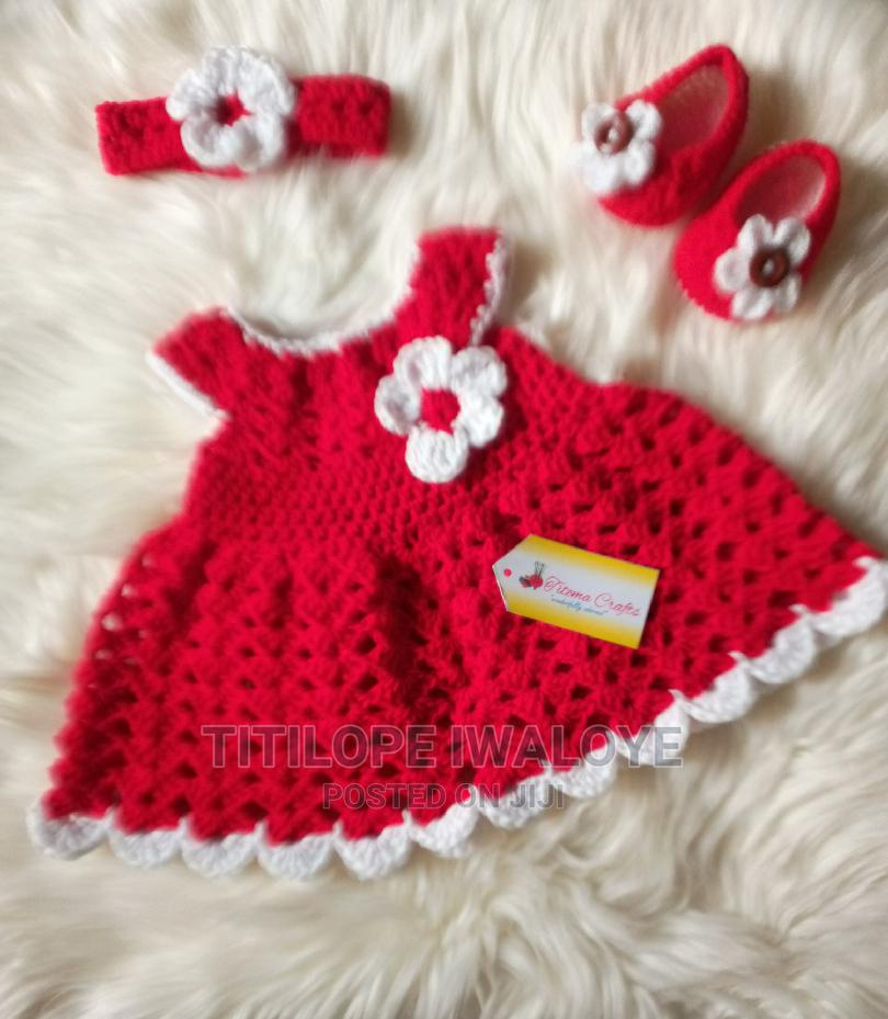 Crochet Newborn Baby Gown   Children's Clothing for sale in Ikeja, Lagos State, Nigeria