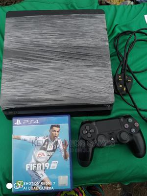 Uk Ps4 Slim+Fifa19/Perfect Working | Video Game Consoles for sale in Edo State, Benin City