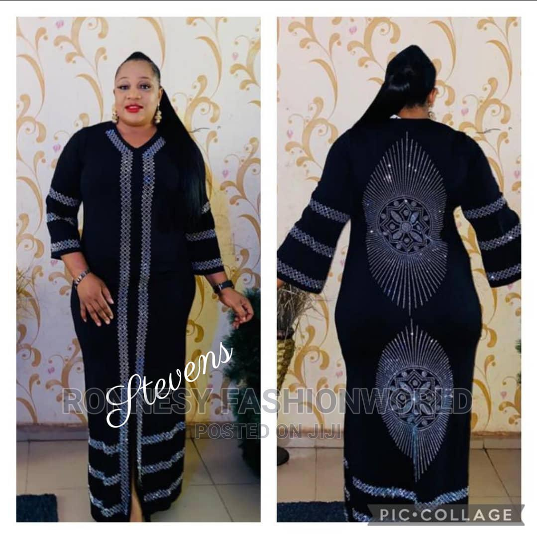 Trendy Elegant Female Quality Maxi Abaya Gown