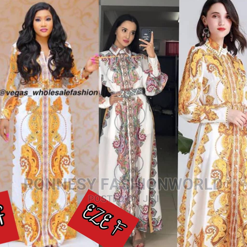 Trendy Elegant Female Quality Maxi Abaya Gown   Clothing for sale in Ikeja, Lagos State, Nigeria