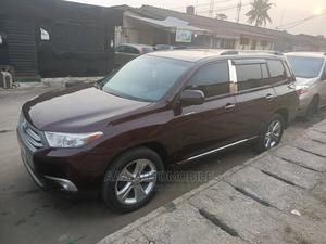 Toyota Highlander 2008 Limited 4x4 Red | Cars for sale in Lagos State, Surulere