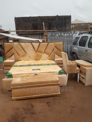 (6/7) Bed Set With Orthopaedic Spring Mattress | Furniture for sale in Lagos State, Ojo