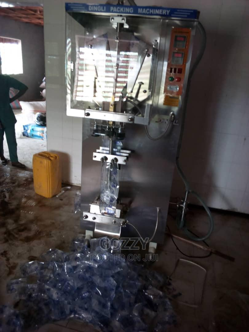 Archive: Sachet Water Packaging Machine Available in Stock Imported