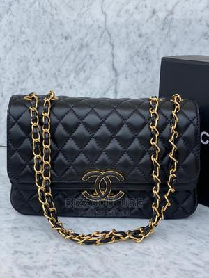 High Quality Gucci Blck Leather Watch for Ladies | Bags for sale in Lagos State, Magodo