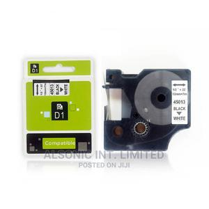 Compatible DYMO D1 Tape Cartridge 12mm Black On White Dymo 4   Accessories & Supplies for Electronics for sale in Abuja (FCT) State, Wuse