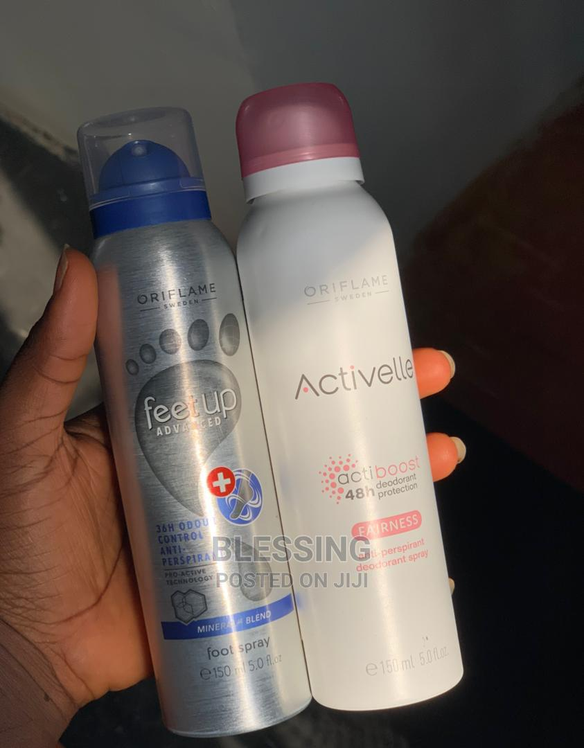Archive: Anti-Perspirant Deodorant and Foot Spray