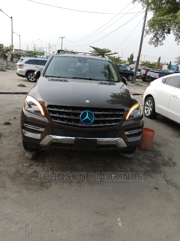 Mercedes-Benz M Class 2015 Brown