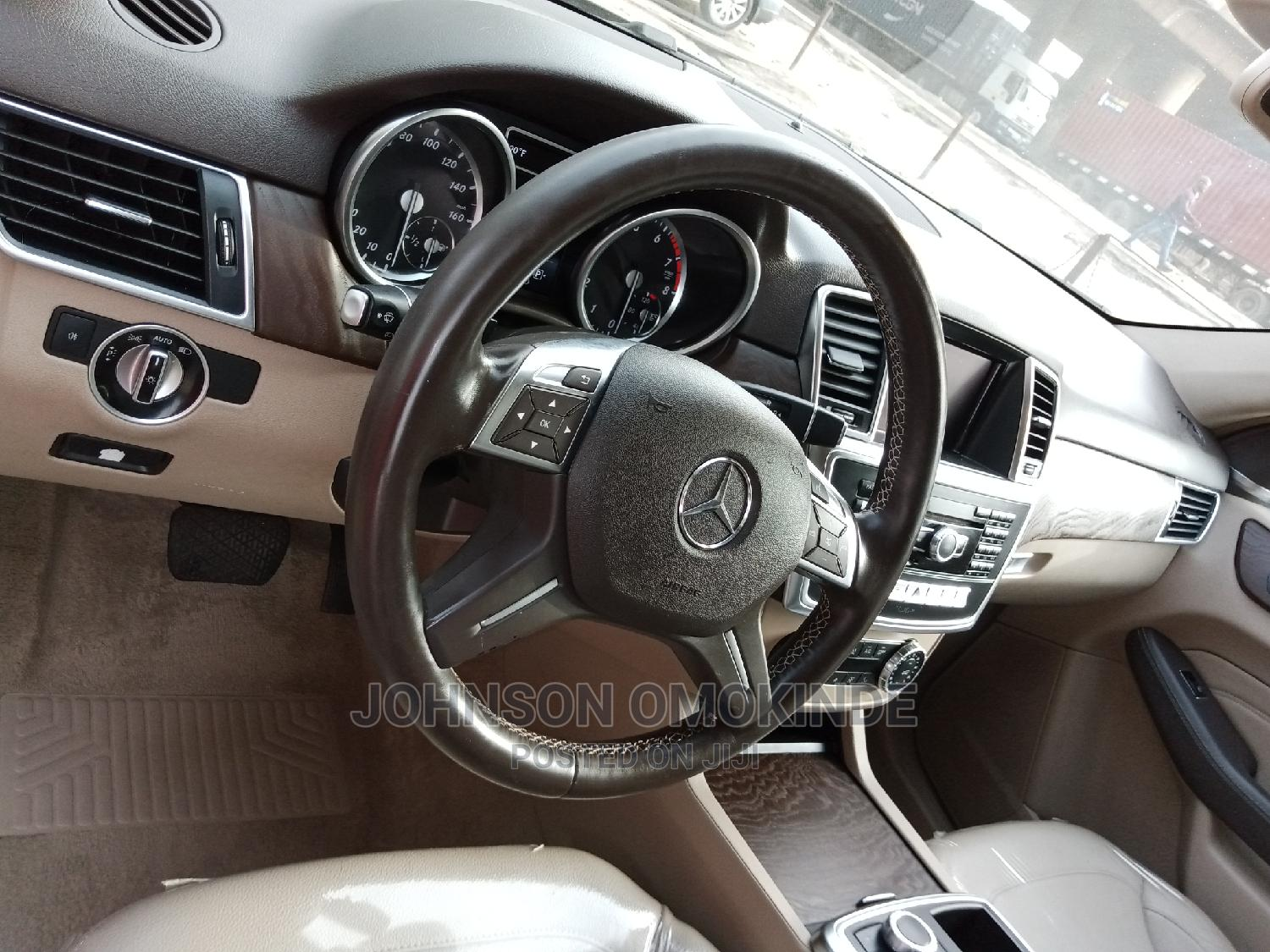 Mercedes-Benz M Class 2015 Brown   Cars for sale in Apapa, Lagos State, Nigeria