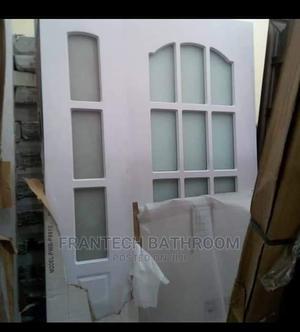 4ft Wooden Glass Door   Doors for sale in Lagos State, Orile