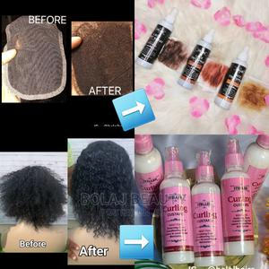 Curling Custard/Lace Tint Spray | Hair Beauty for sale in Lagos State, Ikorodu